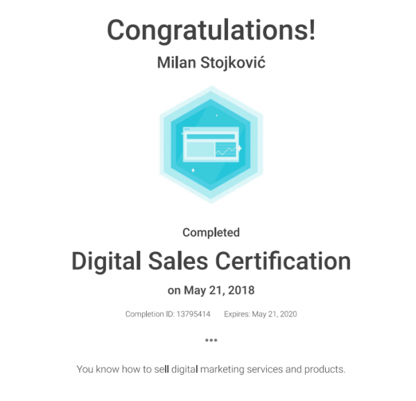 Adwords digital sales cert etourism consulting
