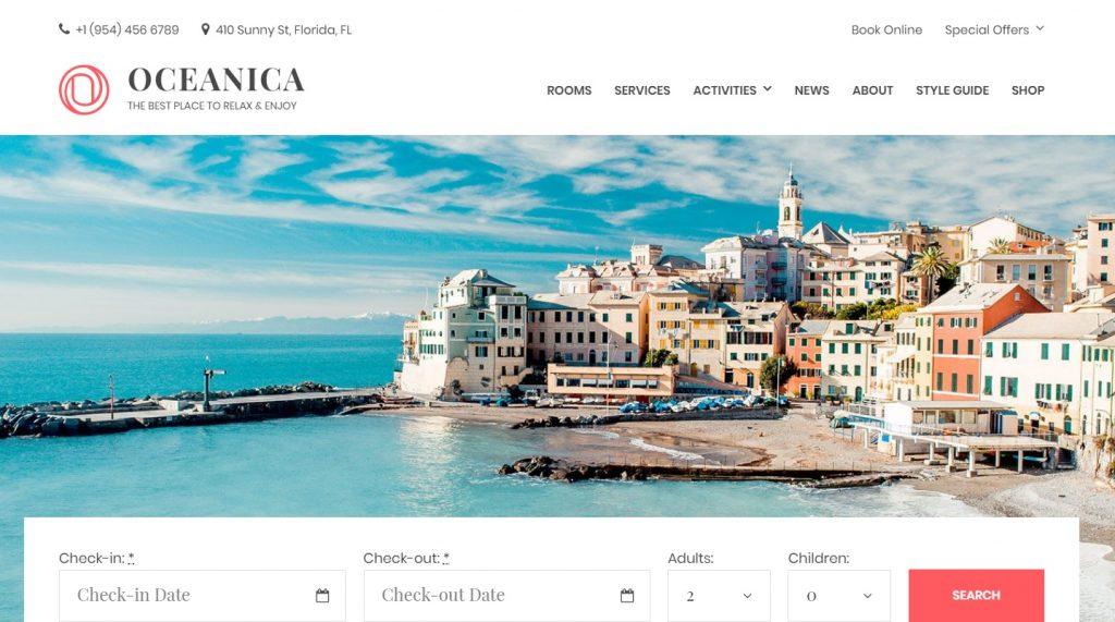 oceanica-wordpress-hotel-theme
