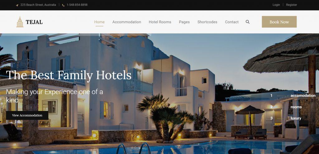 tejal-wordpress-hotel-theme