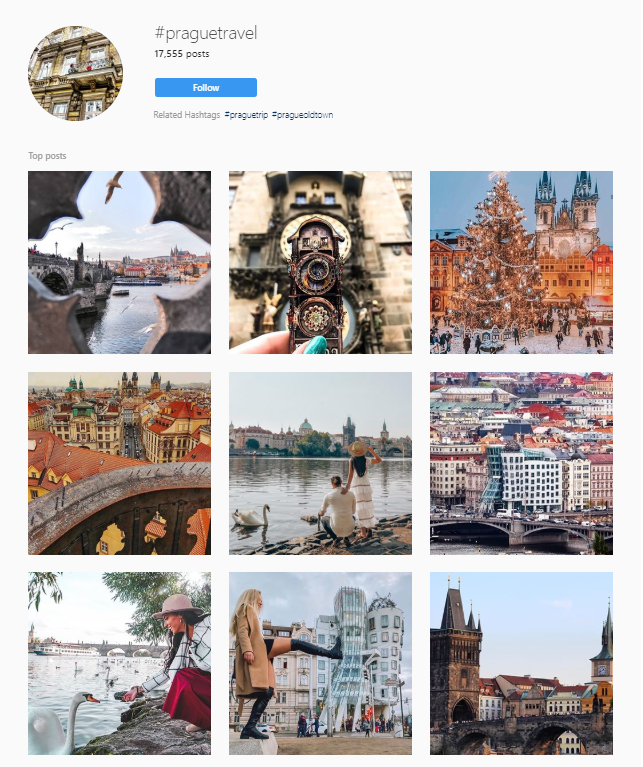 instagram travel market research